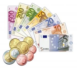 monedas y billetes euros copia