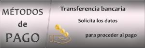 Pago transferencia bancaria